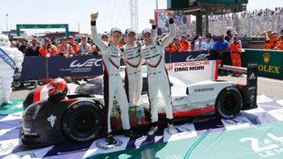 Porsche, ganador en Le Mans en 2017.