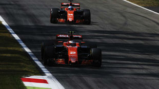 Valdoorne y Alonso, en Monza