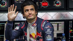 Carlos Sainz, en Monza