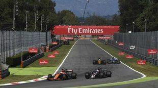Alonso, en Monza.