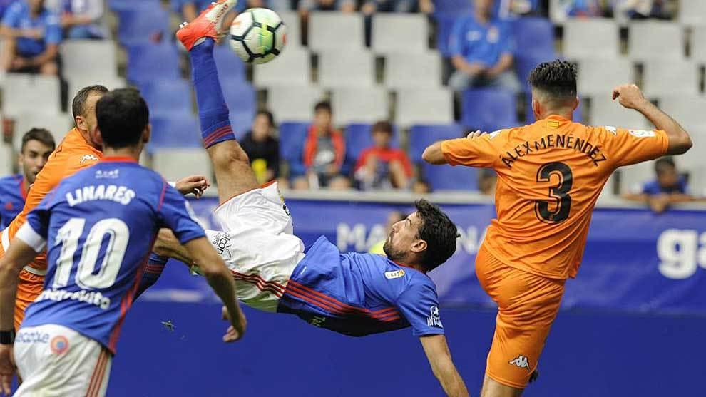 Con esta fantástica chilena abrió el marcador Toché ante el Reus