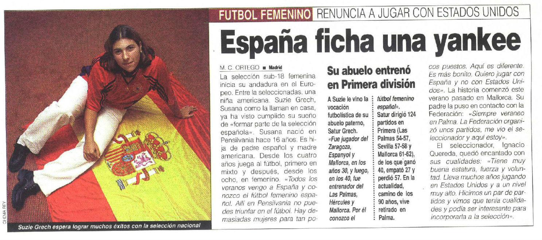 Reportaje de MARCA publicado en 1998.