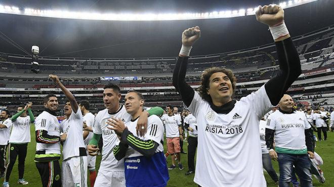 El Tricolor jugará su decimosexta Copa del Mundo en Rusia 2018