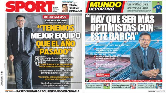 Bartomeu Barcelona Made The Mistake Of Relying On Neymar Marca In English