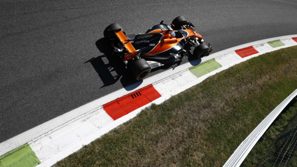 Fernando Alonso, en Monza