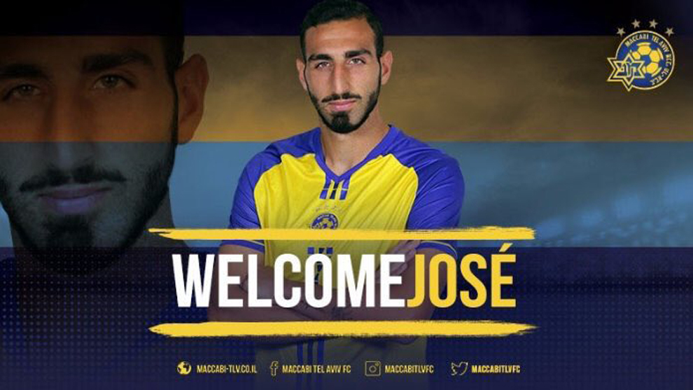 Rodríguez (22), presentado como nuevo jugador del Maccabi Tel Aviv