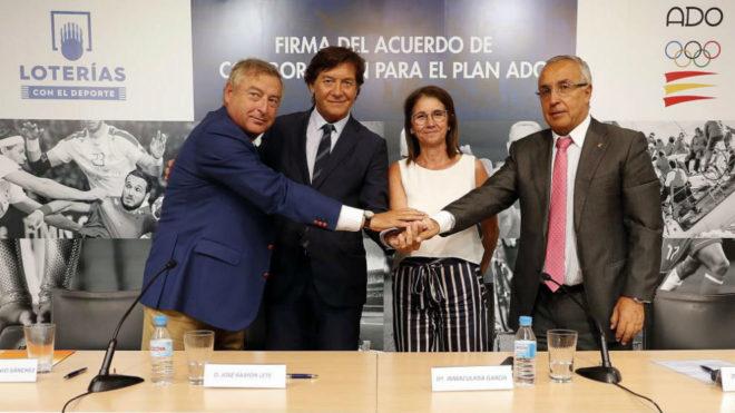 José Antonio Sánchez, José Ramón Lete, Inmaculada García y...