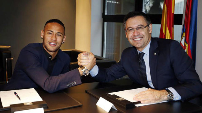 neymar on bartomeu this president is a joke marca in english. Black Bedroom Furniture Sets. Home Design Ideas