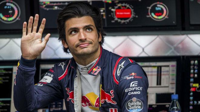 Carlos Sainz, en el pasado GP de Italia.
