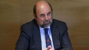 Miguel Sagarra, en la delegación de MARCA