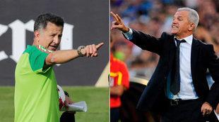 Juan Carlos Osorio y Javier Aguirre, presente y pasado de la...