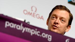 Parsons (40), durante una conferencia de prensa
