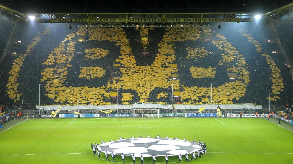 La afición del Borussia Dortmund