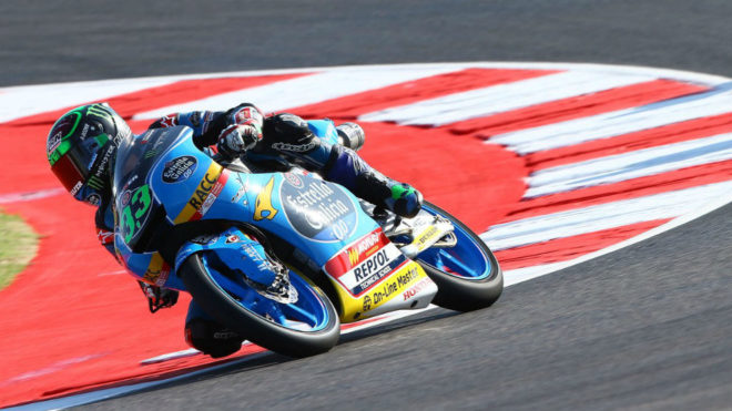 Bastianini pilota su Honda en Misano.
