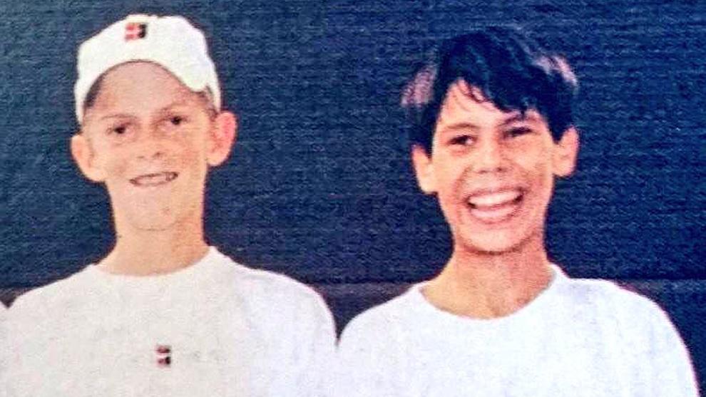 Rafael Nadal y Kevin Anderson ya se vieron las caras en el Stuttgart...