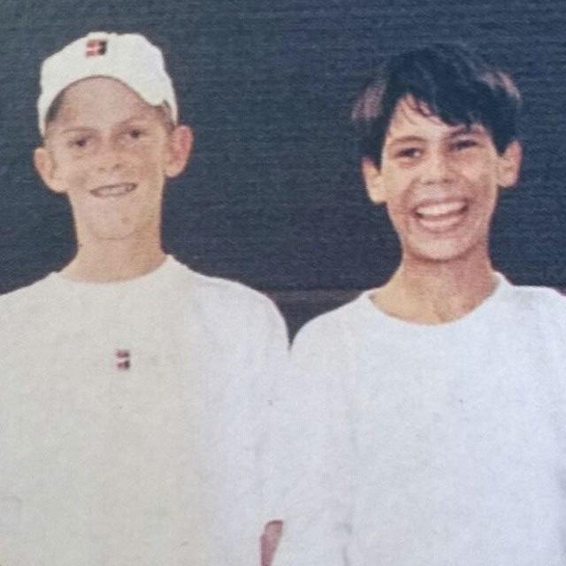 Kevin Anderson y Rafa Nadal se conocen desde niños