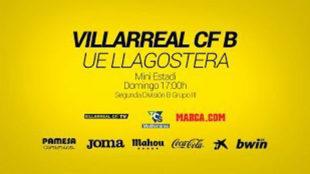 En directo: Villarreal CF B - UE Llagostera