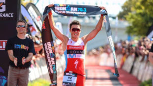 Javier G�mez Noya, campe�n del Mundo de Ironman 70.3 de Chattanooga