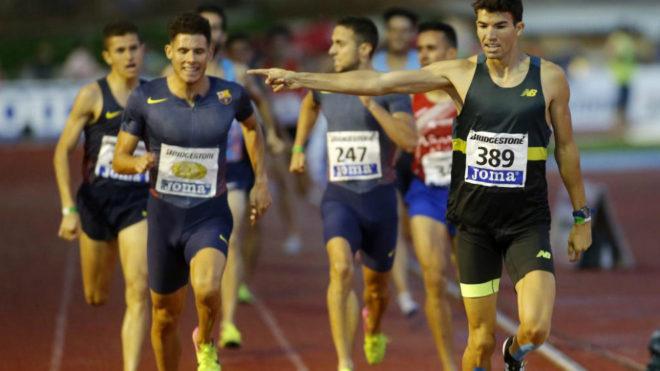 Adel Mechaal se impone en los 1.500 del Campeonato de España de este...