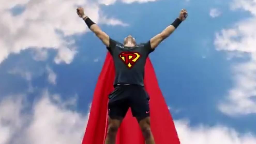 El US Open convirtió en Superman a Rafa Nadal