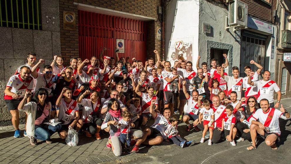 Participantes de la 'ChoriRace'