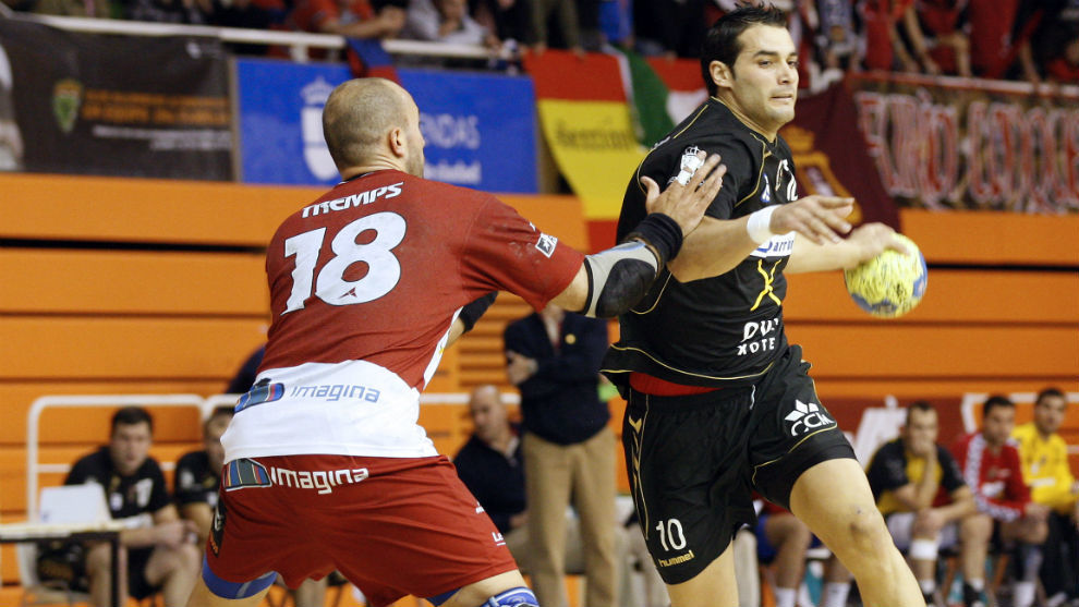 Paván, en su etapa de jugador del Ciudad Encantada.