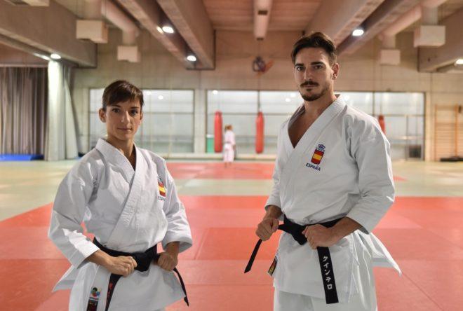Sandra Sánchez y Damián Quintero.