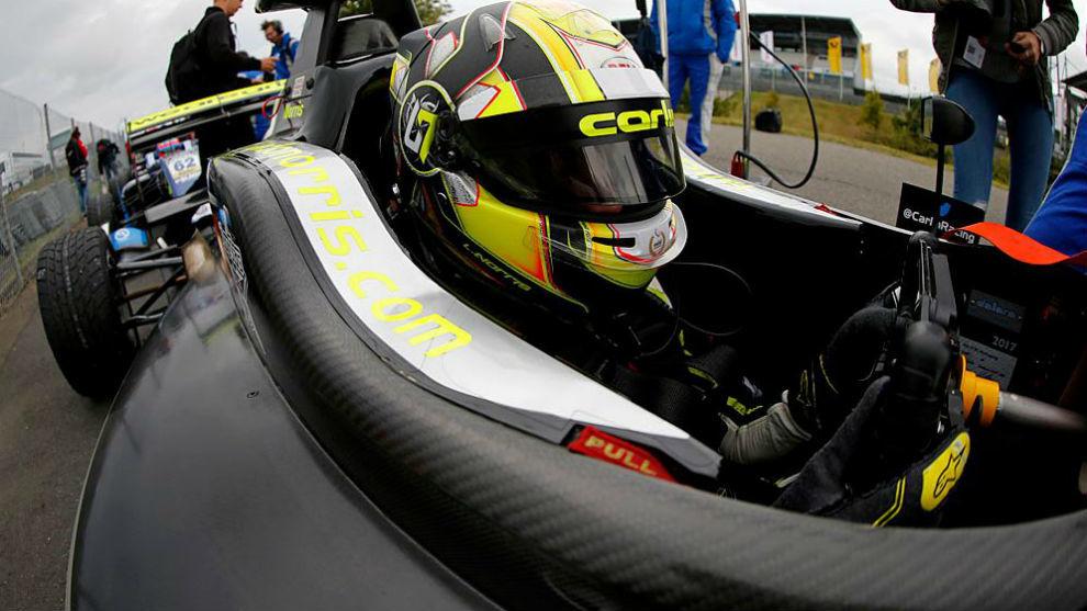 Lando Norris, en Nürburgring
