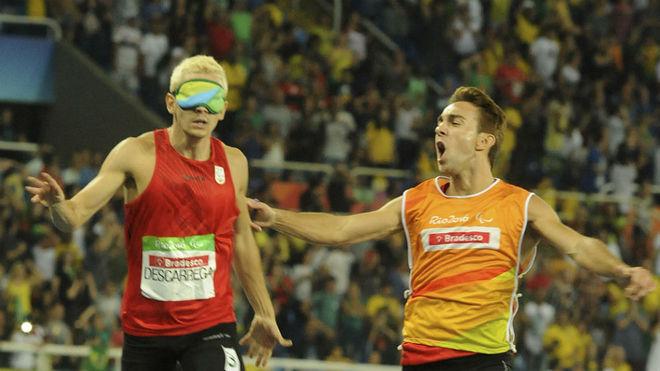 Descarrega y Blanquiño, en los Juegos de Río.