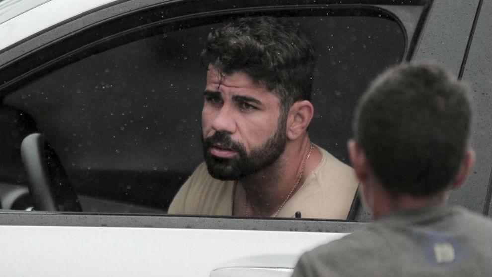 Diego Costa, en una imagen reciente en Brasil.