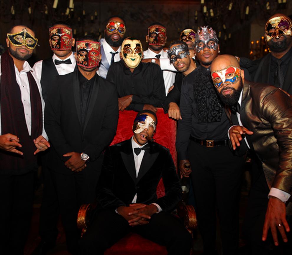 La fiesta de 40 años del cantante Ludacris al más puro estilo 'Eyes...