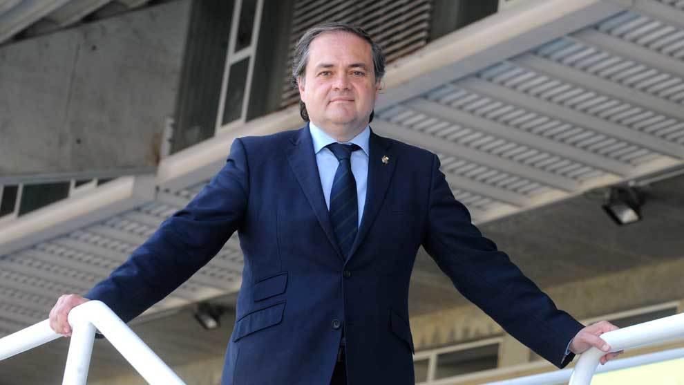 Jokin Aperribay, presidente de la Real Sociedad.