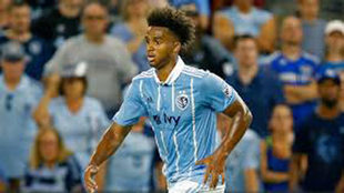 Palmer-Brown, con el Sporting Kansas.