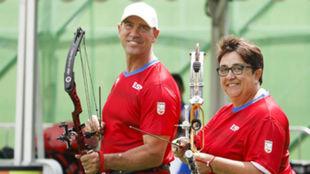 Guillermo Rodríguez y Carmen Rubio.