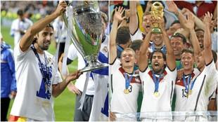 Khedira levanta en 2014 la Champions con el Madrid y la Copa del Mundo...