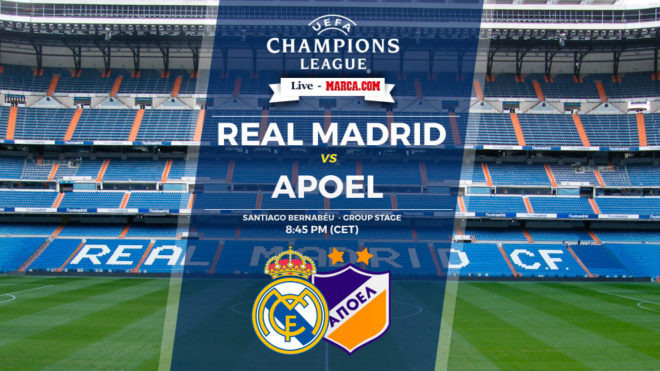 Live streaming facebook : Real Madrid vs Apoel