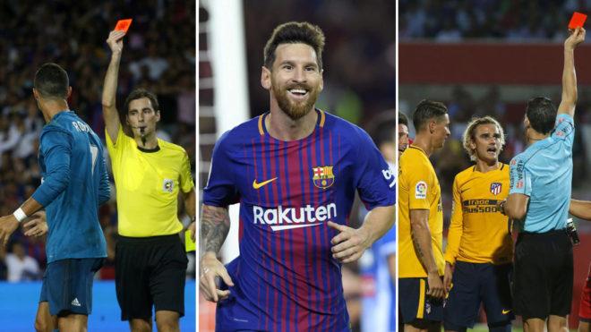 Cristiano y Griezmann han dado mucha ventaja a Messi por sus...