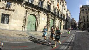 Varios corredores en la edición del año pasado.