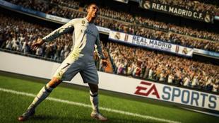 Cristiano Ronaldo en el nuevo FIFA 18
