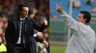 Emery, ayer en Celtic Park, y en la 2005-06 con el Lorca.
