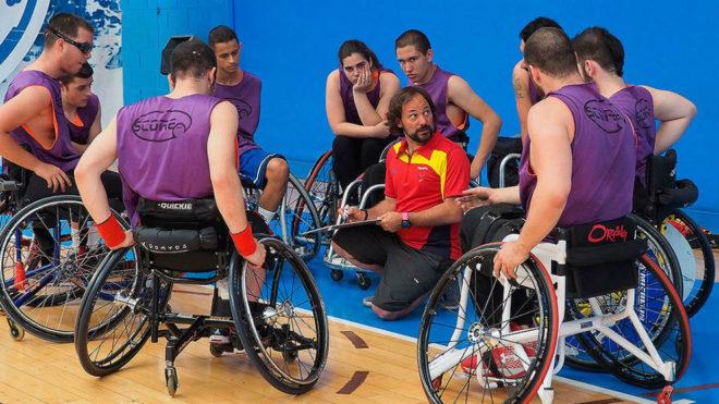 Óscar Trigo, en un entrenamiento.