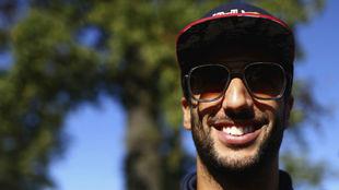 Daniel Ricciardo, en Monza