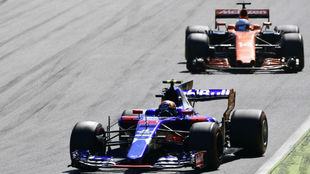 Sainz y Alonso, en Monza