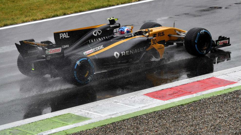 Jolyon Palmer, en Monza