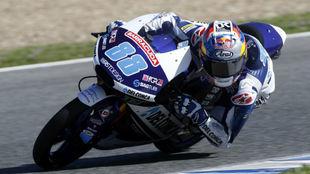 Jorge Mart�n, en Jerez
