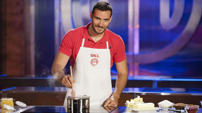 Saúl Craviotto, en 'MasterChef Celebrity'