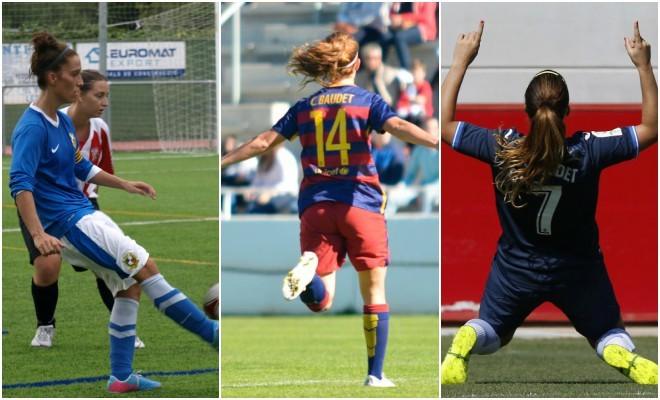 Cristina Baudet y sus tres equipos: Sant Gabriel, Barcelona y Espanyol