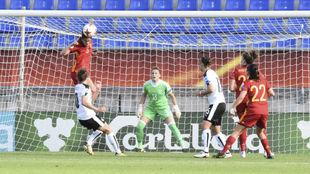 Lance del España-Austria de la Eurocopa de Países Bajos.
