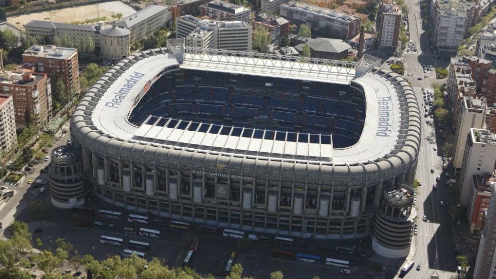 Resultado de imagen para estadio santiago bernabeu