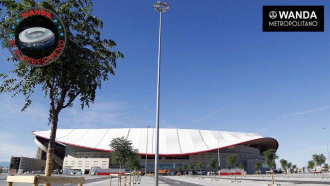 Exteriores del Wanda Metropolitano.